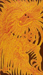 Dragón Viejo (rojo y amarillo)