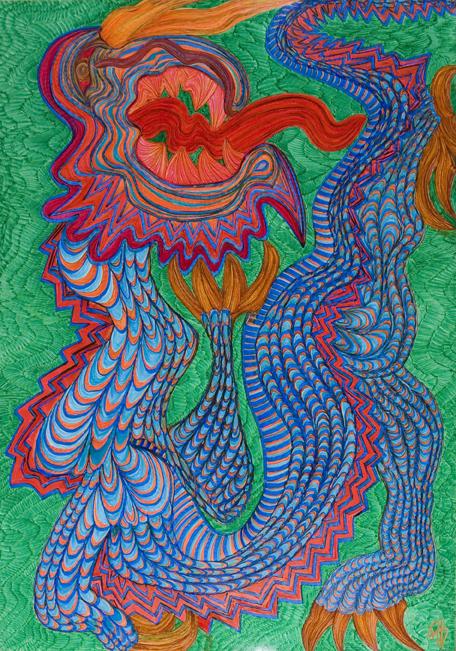 Dragón Figurativo IV