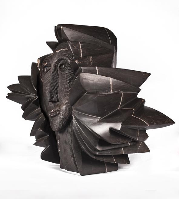 Cabeza de Palas Atenea (frontal)