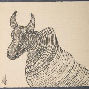 El Buey Apis. Ilustración recogida en el BESTIARIUS STEBANENSIS.