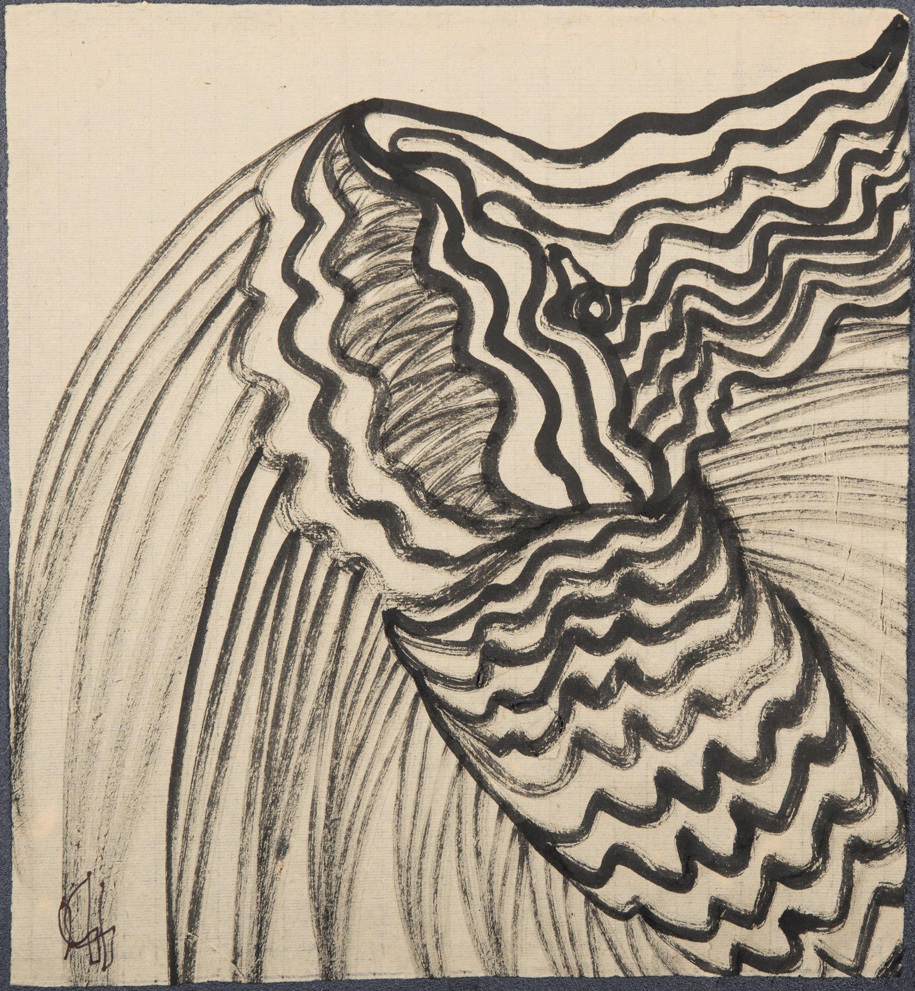 La Serpiente de Mar. Ilustración recogida en el BESTIARIUS STEBANENSIS.