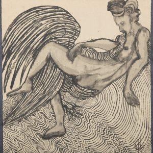 El Cisne de Leda. Ilustración recogida en el BESTIARIUS STEBANENSIS.