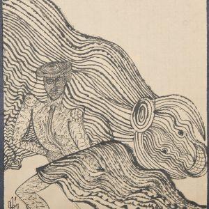 El Toro Bailaor. Ilustración recogida en el BESTIARIUS STEBANENSIS.