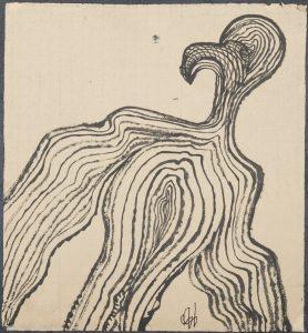El Ave Fénix. Ilustración recogida en el BESTIARIUS STEBANENSIS.