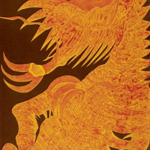 Dragón Joven (rojo y amarillo)