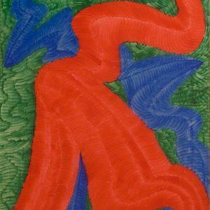 Dragón Abstracto I