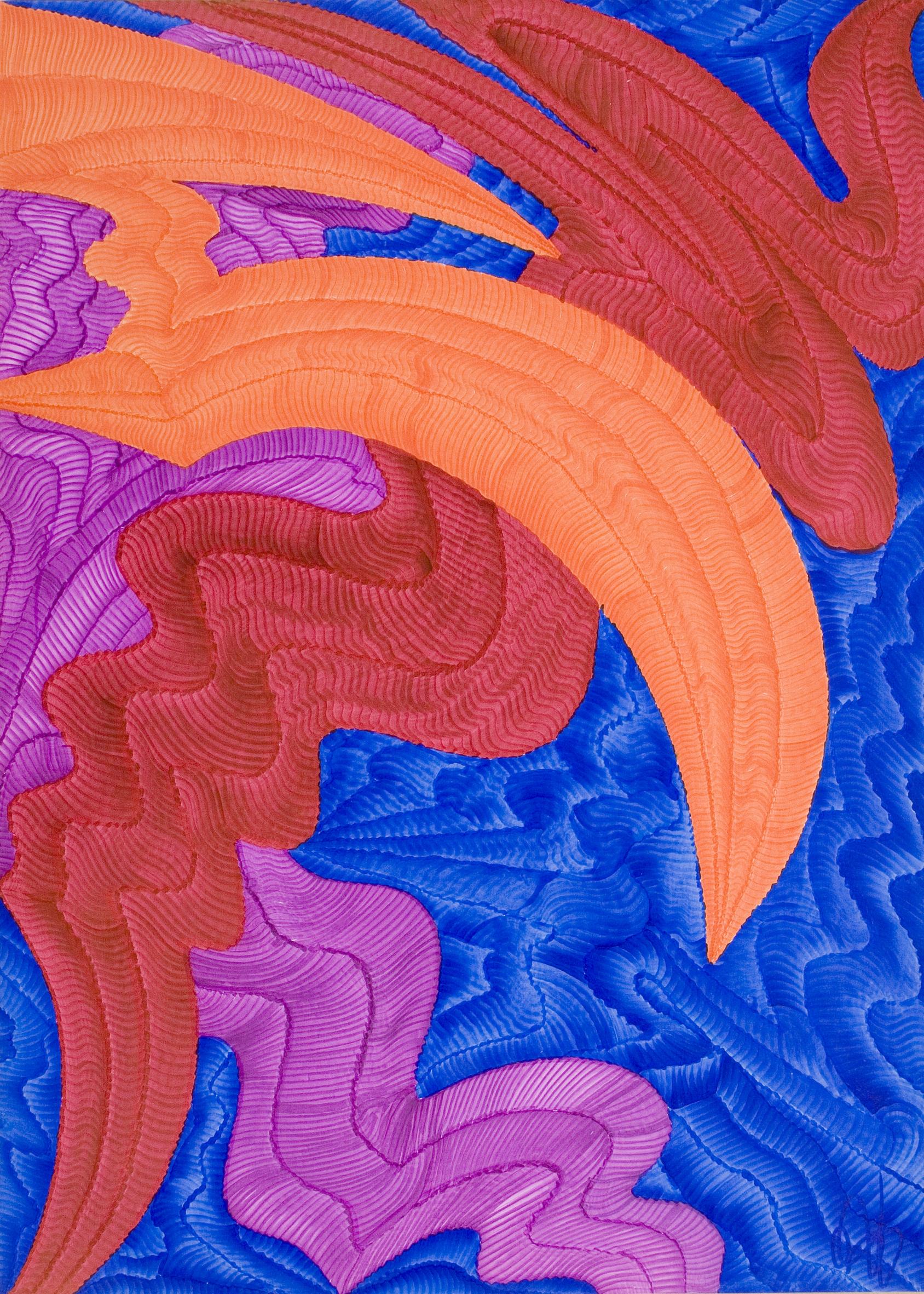 Dragón Abstracto IV