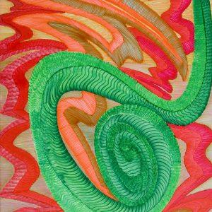 Dragón Abstracto V