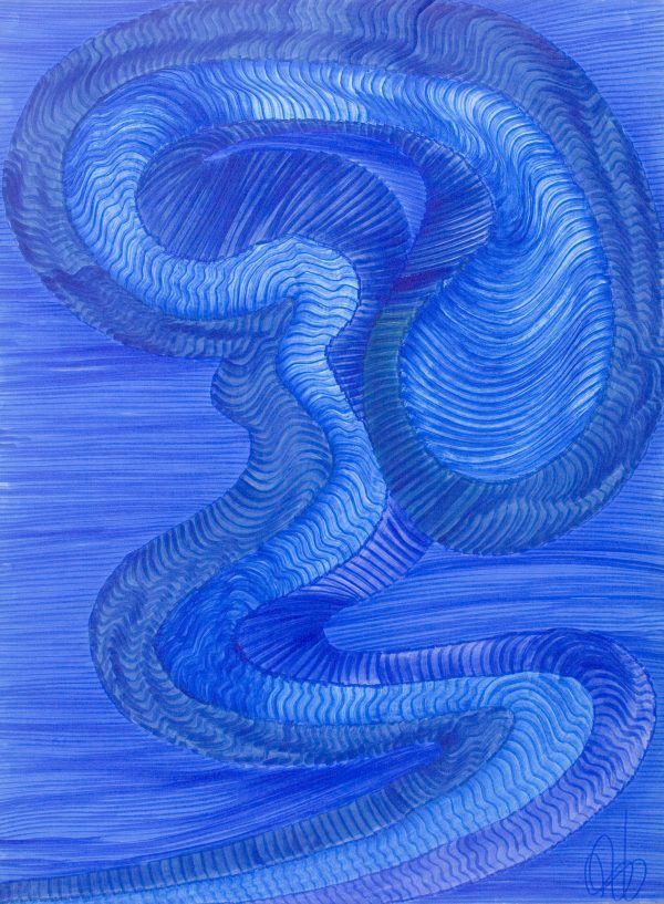 Dragón Abstracto XIII