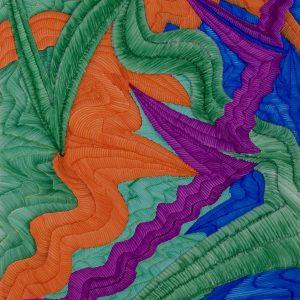 Dragón Abstracto VI