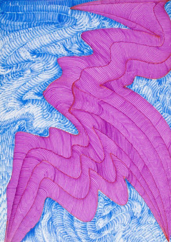Dragón Abstracto XII